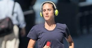 Jennifer Connelly running workout