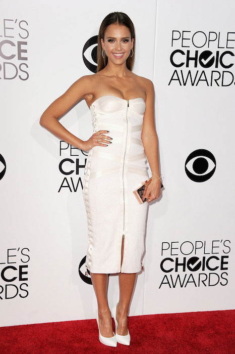 Jessica Alba during Peoples' Choice Award 2014