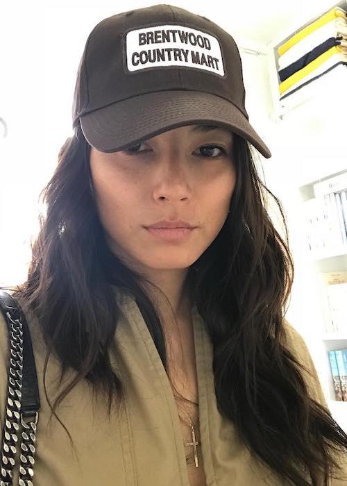 Jessica Gomes in June 2018 selfie