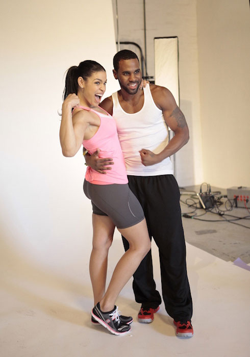 Jordin Sparks and Jason Derulo Workout