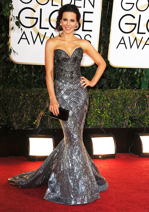 Kate Beckinsale during Golden Globes 2014