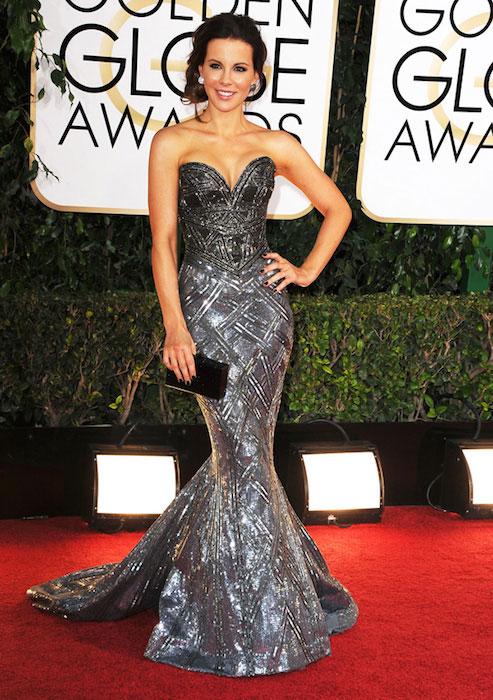 Kate Beckinsale during Golden Globes 2014