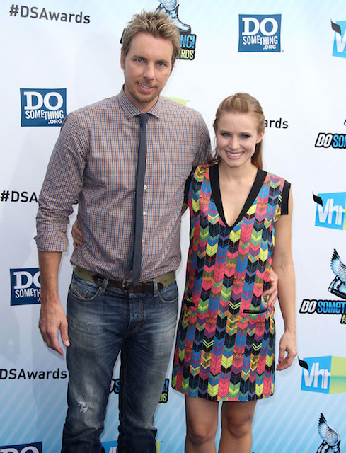 Kristen Bell and her husband, Dax Shepard