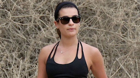Lea Michele Workout Routine and Diet Plan