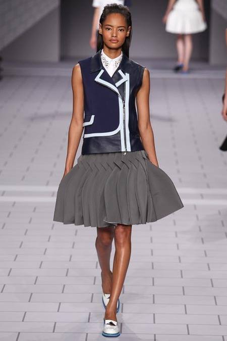 Malaika Firth for Viktor & Rolf 2014 Collection