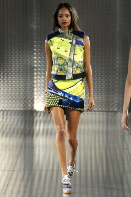 Malaika Firth for Mary Katrantzou Spring / Summer 2014 Collection