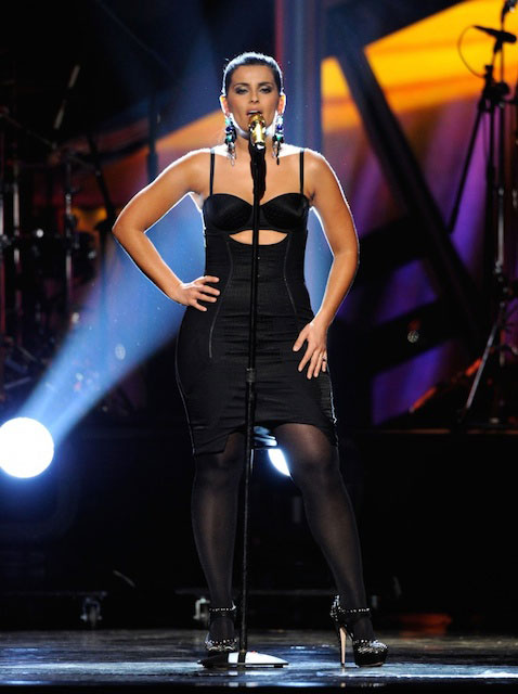 Nelly Furtado performing during 11th Latin Grammy Awards