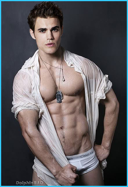 Paul Wesley workout body