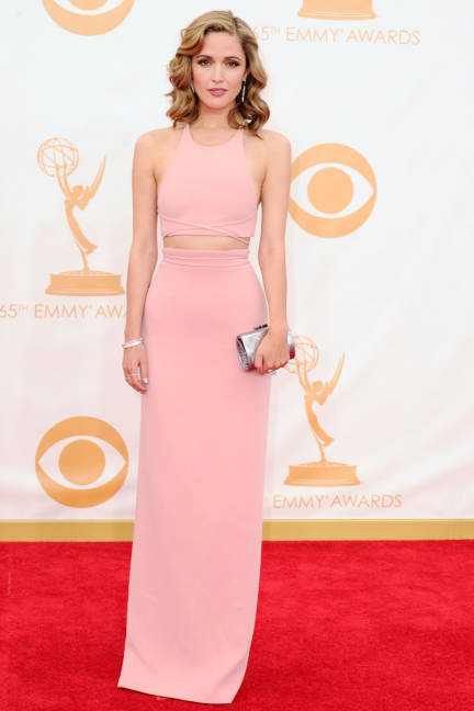 Rose Byrne during 65th Emmy Awards