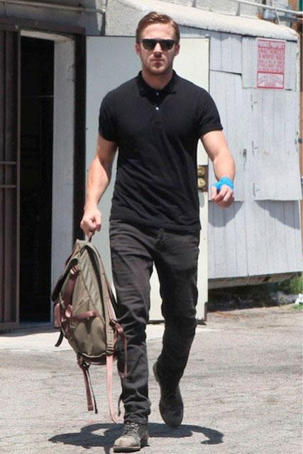 Ryan Gosling fit body 2014