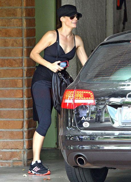 Sandra Bullock exercise