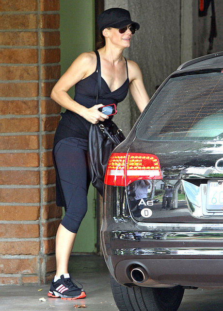 Sandra Bullock workout