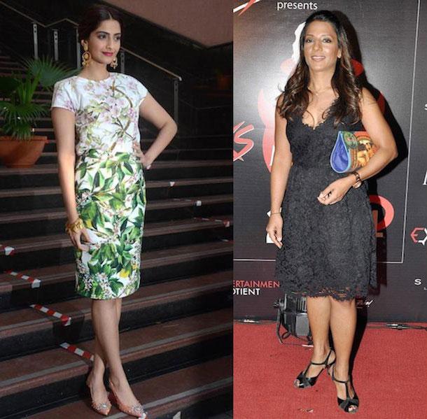 Sonam Kapoor and Radhika Karle
