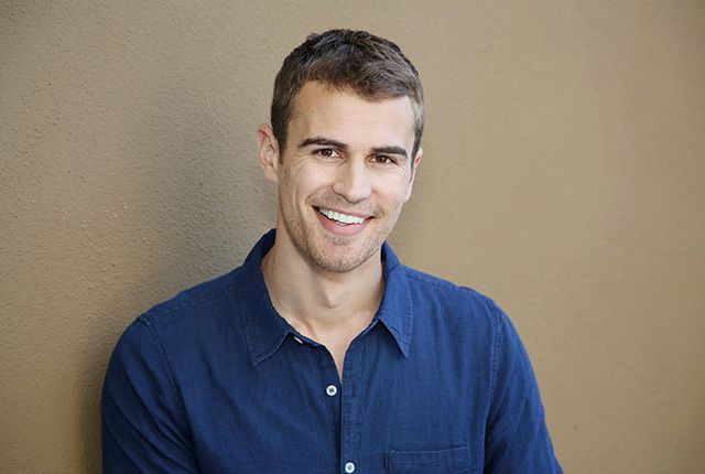 Theo James headshot