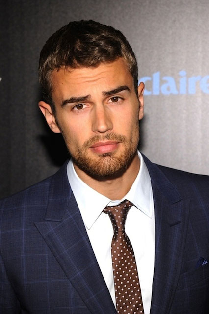 Theo James Shirtless Theo james