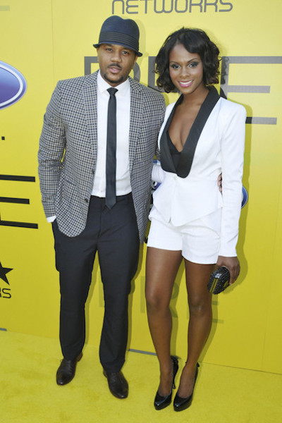 Tika Sumpter and Hosea Chanchez