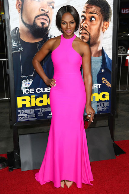 Tika Sumpter during Ride Along Hollywood Premiere January 2014