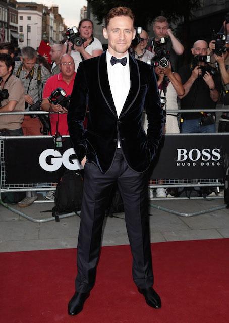 Tom Hiddleston during Golden Globes 2014