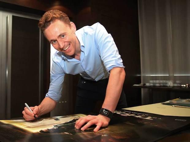 Tom Hiddleston weight