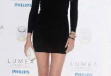 Vanessa Lorenzo during New Philips Lumea Confort Event