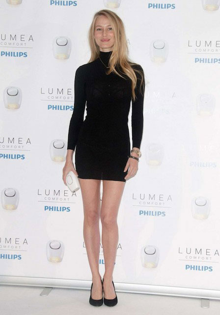 Vanessa Lorenzo during New Philips Lumea Confort Event in March 2014