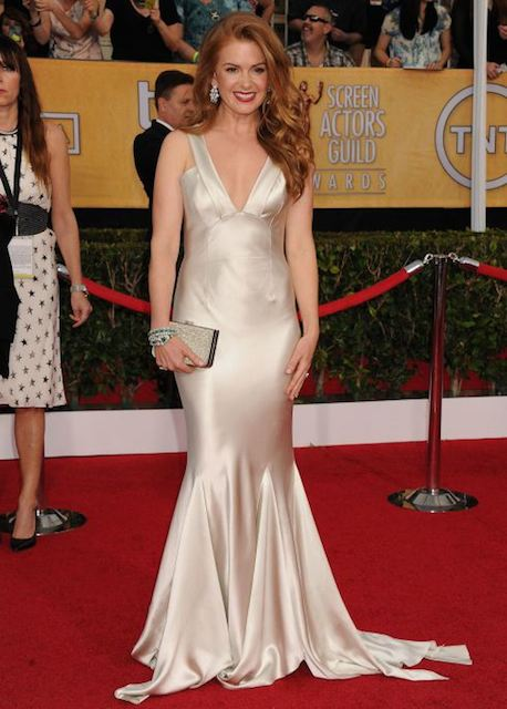 Isla Fisher during SAG Awards 2014