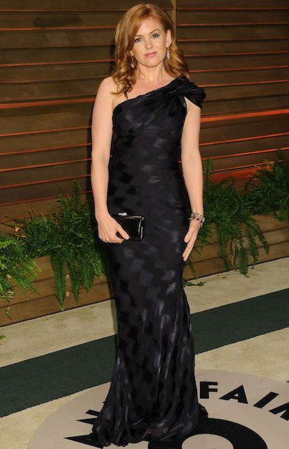 Isla Fisher Vanity Fair Oscar Party 2014