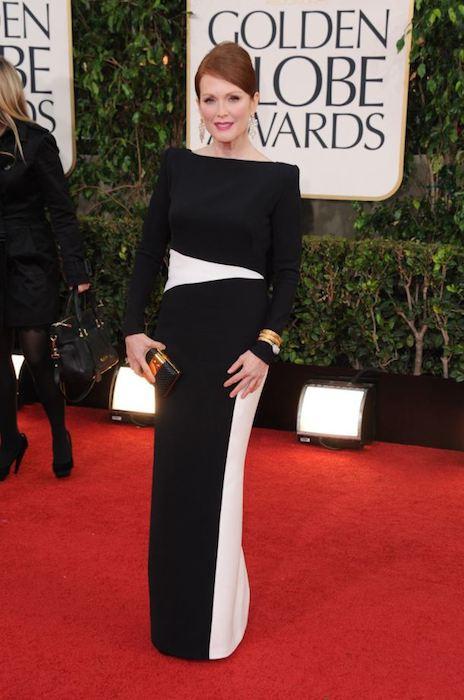 Julianne Moore during Golden Globes 2013