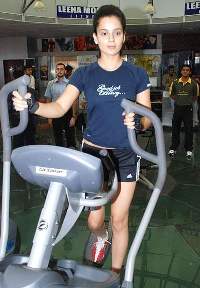 Kangana Ranaut gym workout