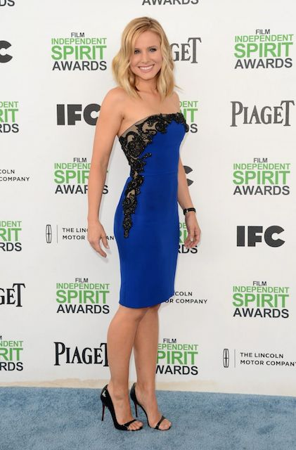 Kristen Bell in 2014 Film Independent Spirit Awards in Santa Monica