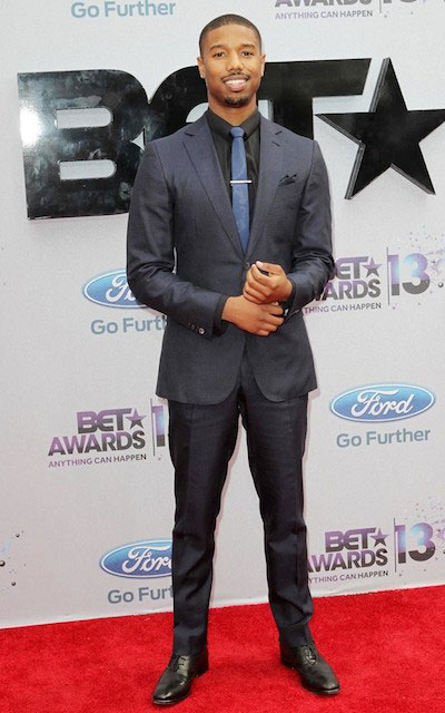 Michael B Jordan during 2013 Bet Awards