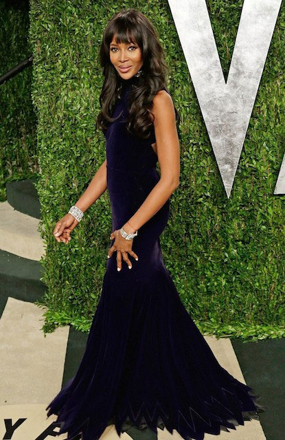 Naomi Campbell during 2013 Vanity Fair Oscars Party