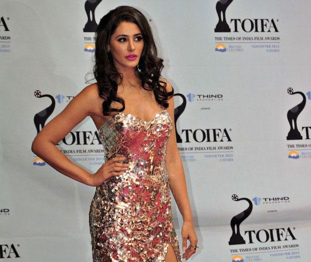 Nargis Fakhri during TOIFA Awards 2013