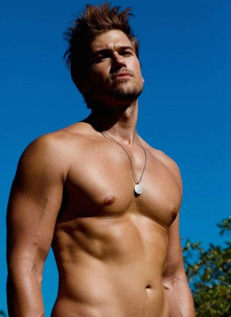 Nick Zano shirtless body