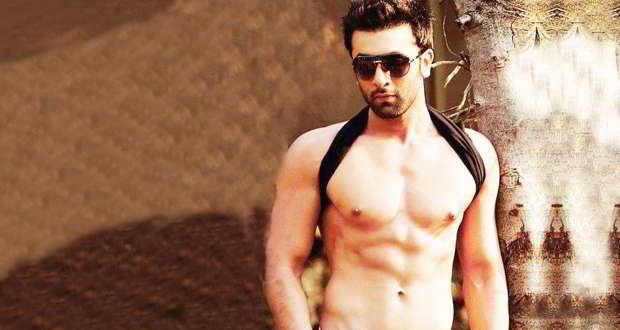 Ranbir Kapoor shirtless body