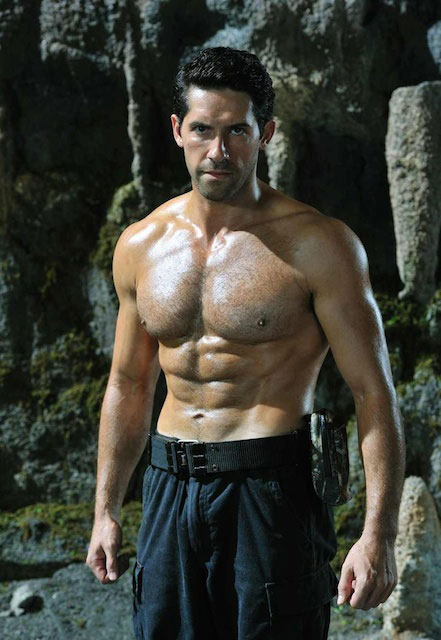 Scott Adkins workout