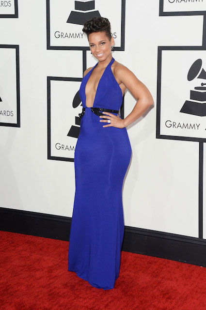 Alicia Keys at Grammy Awards 2014