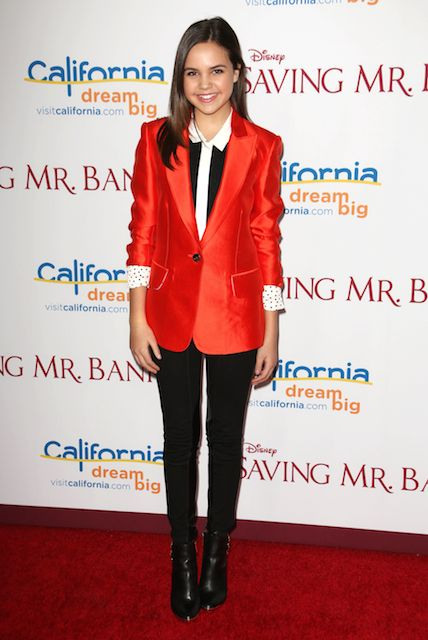 Bailee Madison at the 'Saving Mr. Banks' film premiere in Los Angeles