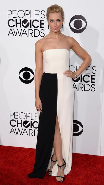 Beth Behrs during People's Choice Awards 2014