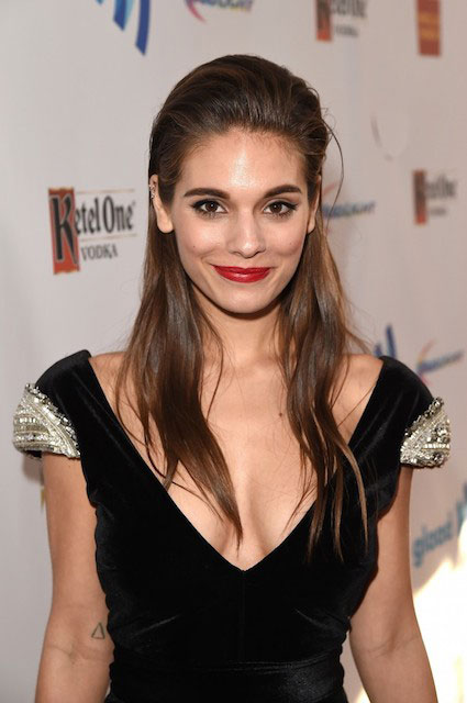 Caitlin Stasey at 2014 GLAAD Media Awards