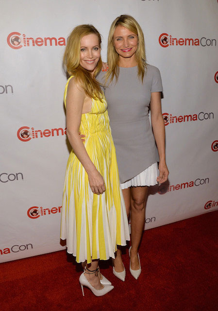Cameron Diaz and Leslie Mann at CinemaCon 2014