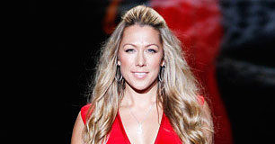 Colbie Caillat during a Fashion Show in 2014