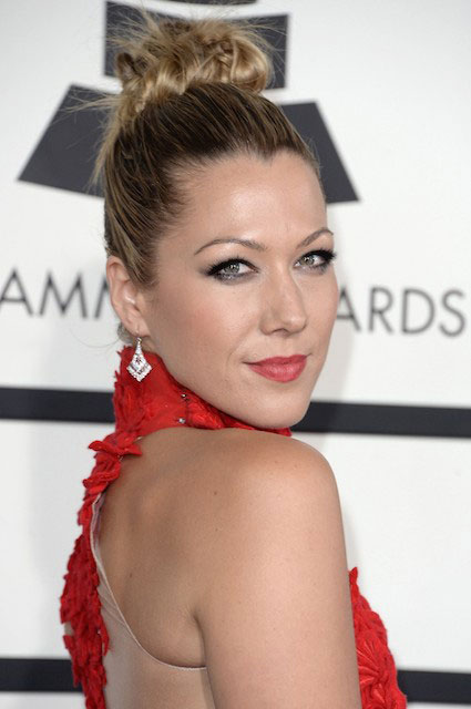 Colbie Caillat during Grammys 2014