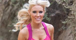 Gretchen Rossi running workout