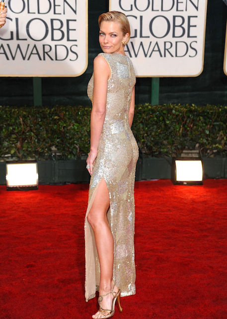 Jaime Pressly during Golden Globes 2014