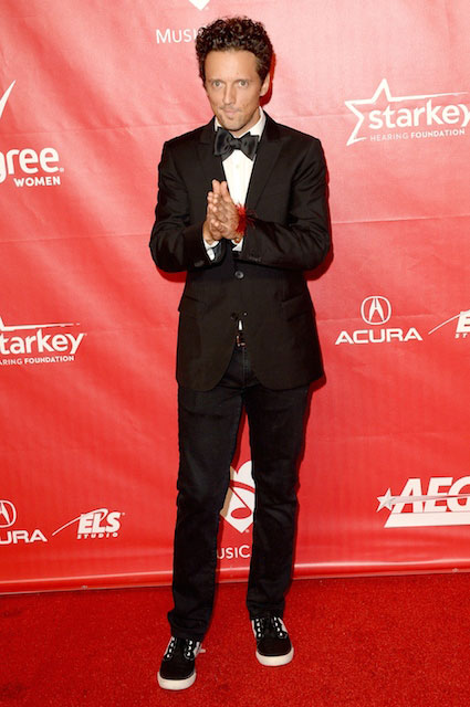 Jason Mraz attends The 2014 MusiCares Person Of The Year Gala on January 24 2014