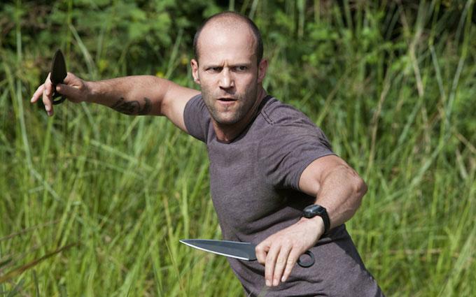 Jason Statham workout