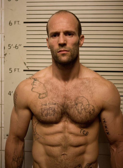 Jason Statham buffed body