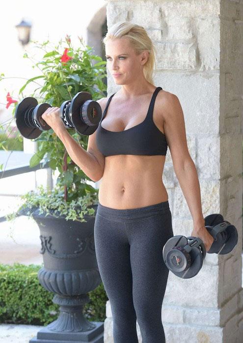 Jenny McCarthy workout routine