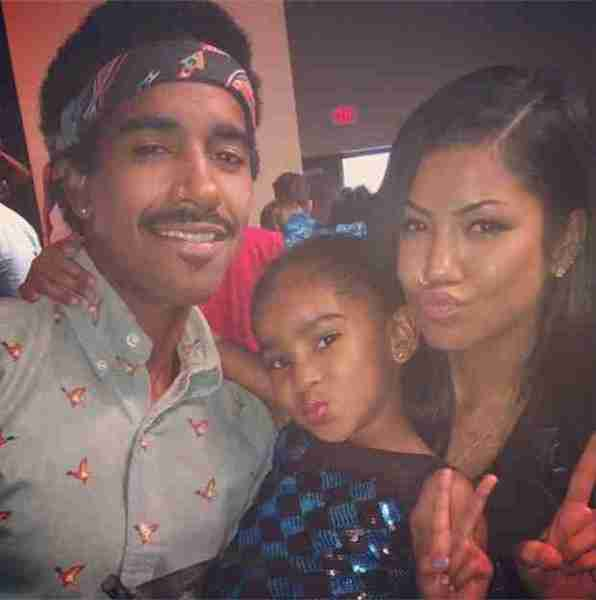 Jhene Aiko with her daughter Namiko Love